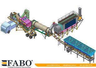 jauns FABO Installation of asphalt of any capacity mobile and fixed. asfalta rūpnīca