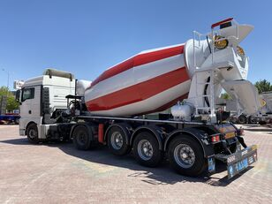 jauns ALIM mixer semi trailer concrete mixer semi-trailer betona maisītājs