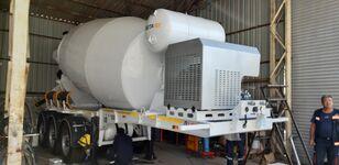 jauns EXPOTRAILER 12 M3 betona maisītājs