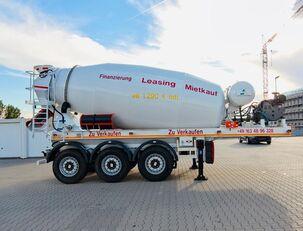 SCHWARZMÜLLER TTC-Fulda Betonmischer Auflieger mit Motor  NEU betona maisītājs