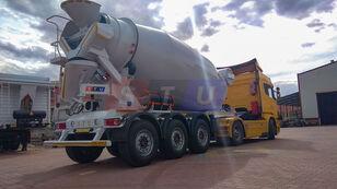 jauns STU 12.7 CBM MIXER TRAILER betona maisītājs