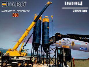 jauns FABO MIX COMPACT-110 CONCRETE PLANT   CONVEYOR TYPE betona rūpnīca