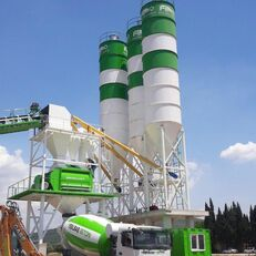 jauns FABO POWERMIX-130 CONCRETE PLANT   NEW GENERATION betona rūpnīca