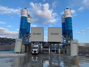jauns FABO POWERMIX-200 STATIONARY CONCRETE BATCHING PLANT betona rūpnīca