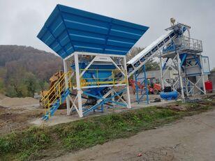 jauns PROMAX محطة خلط الخرسانة المدمجة C60-SNG-PLUS (60 م 3 / ساعة) betona rūpnīca