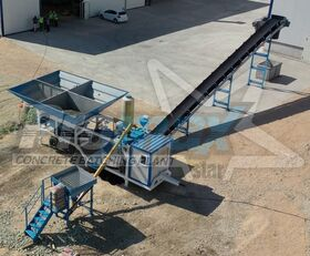jauns PROMAX Mobile Concrete Batching Plant M35-PLNT (35m3/h) betona rūpnīca