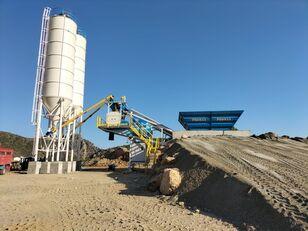 jauns PROMAX Mobile Concrete Batching Plant PROMAX M60-SNG(60m³/h) betona rūpnīca