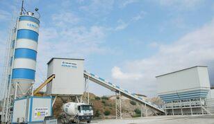 jauns SEMIX  Stationary 160 STATIONARY CONCRETE BATCHING PLANTS 160m³/h betona rūpnīca