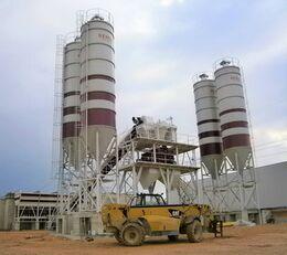 jauns SEMIX Stationary 200 STATIONARY CONCRETE BATCHING PLANTS 200m³/h betona rūpnīca