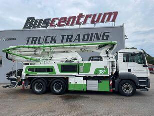 Putzmeister BSF 38-5.16 HLS uz šasijas MAN TGS 26.400 6x4 Putzmeister 38-5 m / Top Pump / German Truck betona sūknis