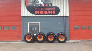 Tianli single tires 600/50x22.5 riteņu ekskavators