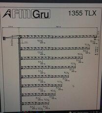 FMGru TLX 1355 torņa celtnis