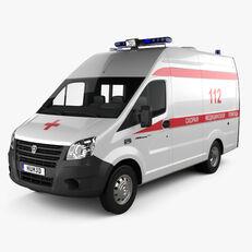 jauns GAZ B TYPE GAZelle NEXT AMBULANCE WİTH FULL EQUİPMENT mikroautobuss ātrās palīdzības mašīna