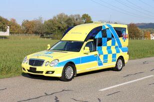 MERCEDES-BENZ E280 hochlang BINZ mikroautobuss ātrās palīdzības mašīna