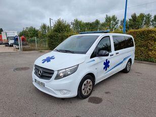 MERCEDES-BENZ VITO 163 CV - 2018 - 204 000 KM - AUTOMATIC mikroautobuss ātrās palīdzības mašīna