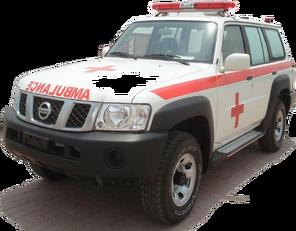 jauns NISSAN Patrol 4.0 XE AT mikroautobuss ātrās palīdzības mašīna