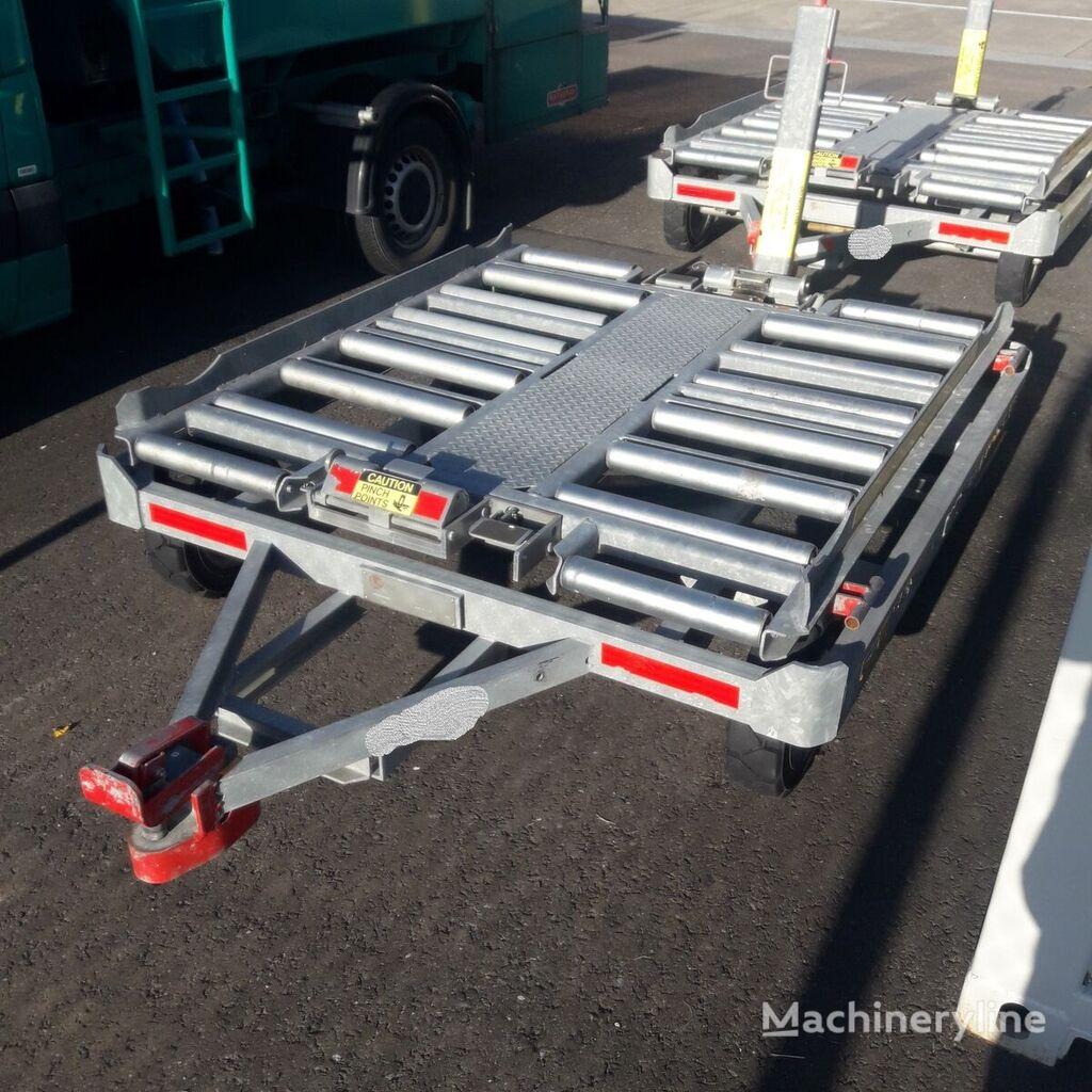 jauns Miloco MS1500 45 10.00 konteineru ratiņi