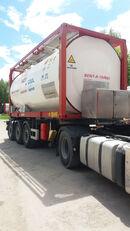 VAN HOOL ОРЕНДА / Охолодження -10 / Підігрів + 80  20 pēdu tank konteiners
